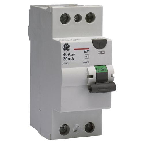 General electric siga electricidad for Diferencial general electric